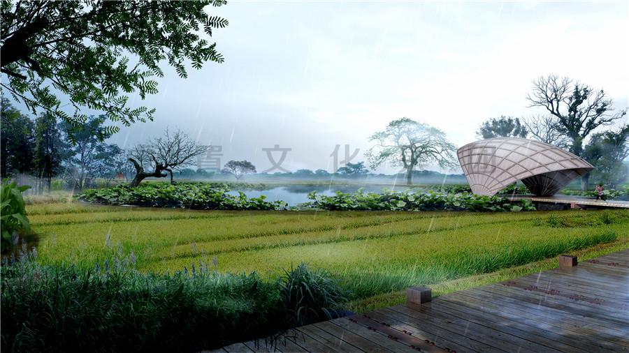 湿地公园3D效果图