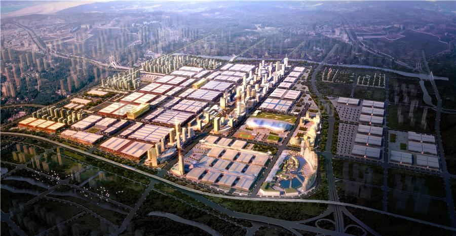 华南城规划效果图