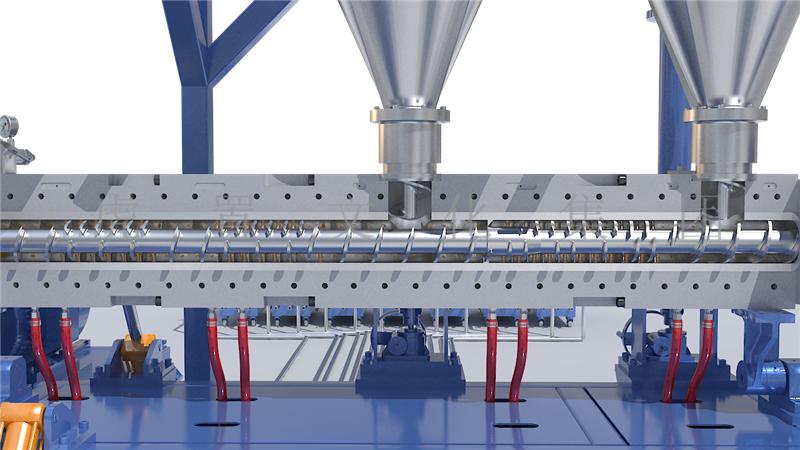 生产线工业效果图